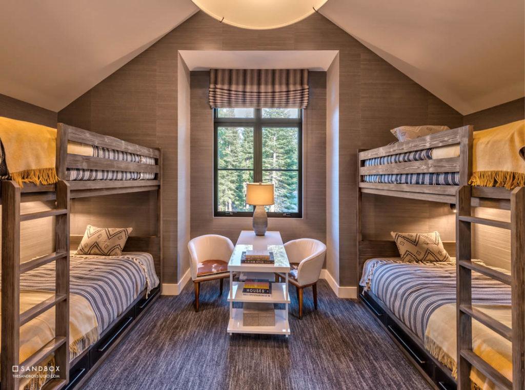 SANDBOX-MARTIS-CAMP-10-MOUNTAIN-TRANSITIONAL-BUNK-ROOM-CUSTOM-BUILT-IN-BUNK-BEDS-READING-AREA image