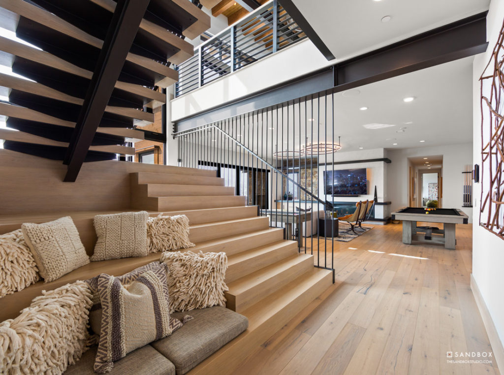 SANDBOX-TALISKER-CLUB-TUHAYE-MOUNTAIN-MODERN-CONTEMPORARY-HOME-STAIRS-WITH-BUILT-IN-SEATING-BELOW-REC-ROOM image